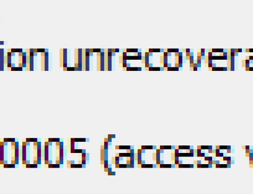 VMware: Exception 0x0000005 (access violation) has occurred.